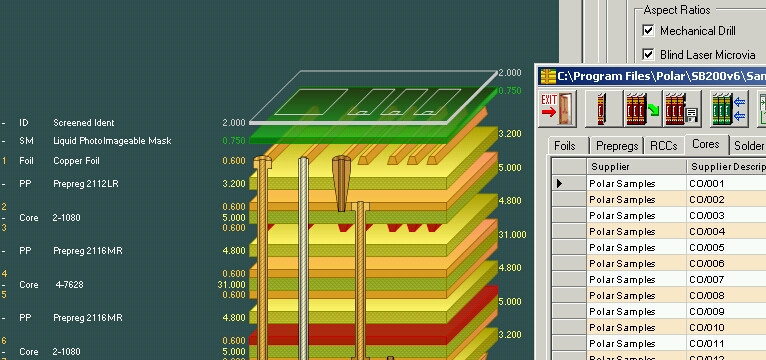 Pcb Layer Stackup Tool Controlled Impedance Pcb Stack Up